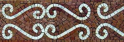 Bordüren, Bad, Küche - Marmor Mosaik Fliese - Naturstein, handgearbeitet [B018] | eBay