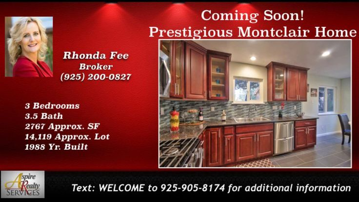 http://ift.tt/2ko4mju  Call Leticia Arteaga at 510-305-5959. This beautifully updated Montclair home boasts 3 bedrooms  3 1/2 baths  2 767 sf. split level home. Upgrades to this home are near$100K  with permits! This 3 bedroom  private home has it all. Updates include Dual Pane Windows  New Flooring  Updated Kitchen with beautifulgranite counter tops & stainless steel appliances. Bathrooms have been fully updated to delight the soul! Other upgrades include Recessed Lighting. Youll find 2…