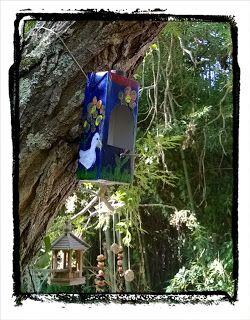Pintas Laranja: Casa de pássaros