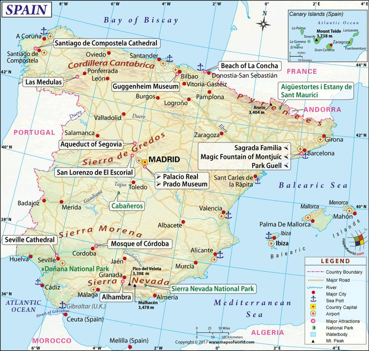 24 best Spain Maps images on Pinterest Spain Spanish and Cards