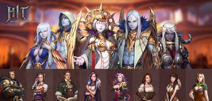HIT - Heroes of Incredible Tales - 아트웍5