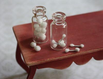 Lasituvan Miniatyyrit - Lasitupa Miniatures: DIY: Bathroom set 1/12