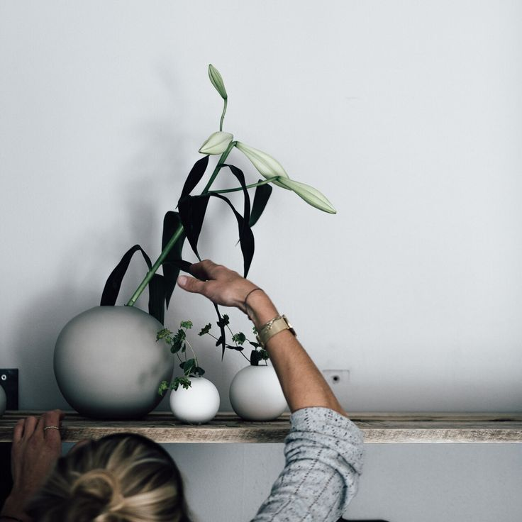 Styling of Cooee vases in store! Photo: Paperbag