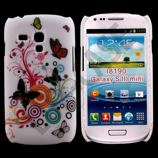 Samsung Galaxy S3 Mini Deksel - sommerfugler