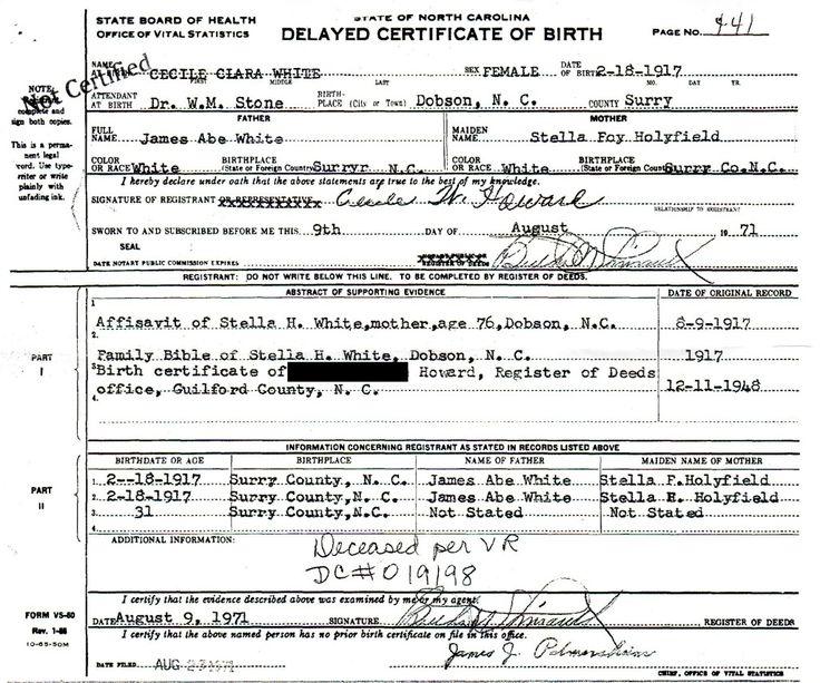 Megan Collins - redacted birth certificate Blacklisted Bastards - copy birth certificate long beach