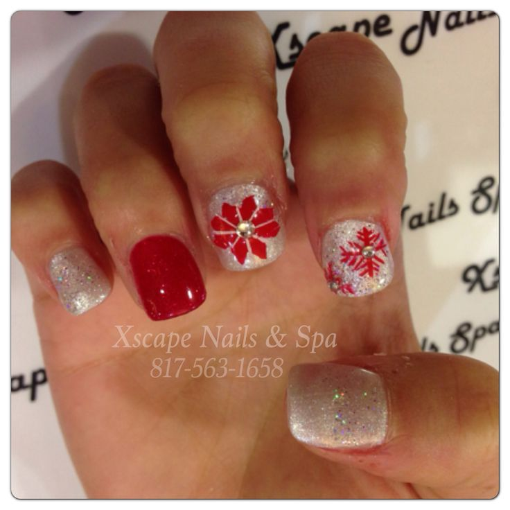 Christmas Nail Designs | Cute Nails Designs | Pinterest