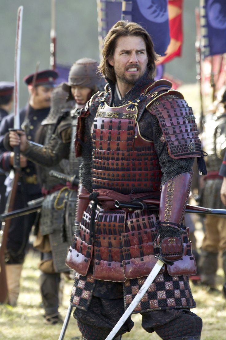 Tom Cruise as Captain Nathan Algren in The Last Samurai