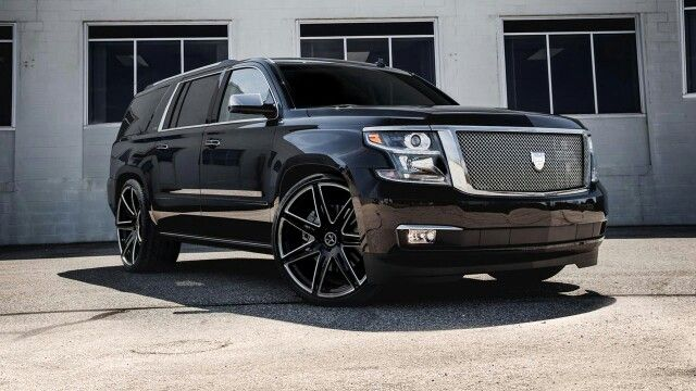 Cadillac Accessories Tuscaloosa >> Chevy Tahoe with Lexani grille and wheels | Big TRUCKS for BIG FUN!!! | Pinterest | Wheels and Chevy