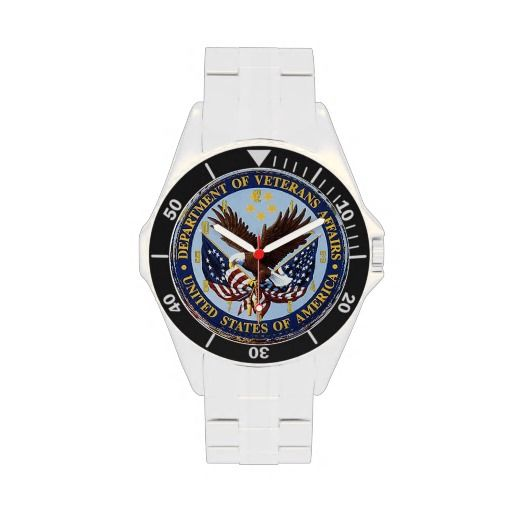 VETERANS ADMINISTRATION WATCHES.. #Veterans #marines #watches #gifts #ceramics #women #people #men #worldwide #world #country #western