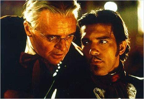 A Máscara do Zorro : foto Anthony Hopkins, Antonio Banderas