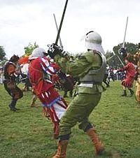 The Scannagallo Battle - a historial setting at Pozzo della Chiana