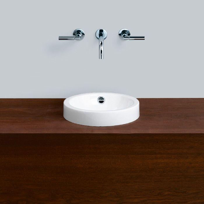 Alape AB.K325.1 countertop washbasin Ø 32.5 cm white - 3001200000 | Reuter Onlineshop