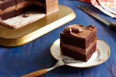 NYT Cooking: Ruth Reichl's Giant Chocolate Cake