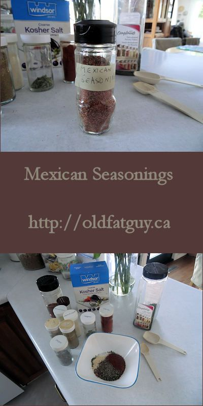 Mexican Seasonings #Mexican #seasoning #seasoningblend #spice