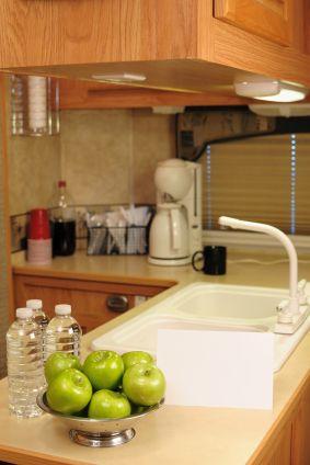 RV Storage Solutions for RV Kitchen Storage