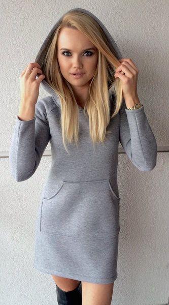 Sukienka dresowa MELIK  w StoneSkirts na DaWanda.com