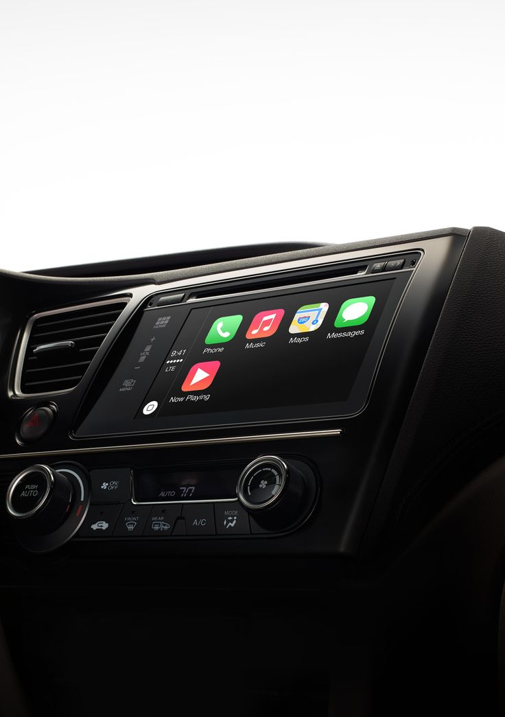 Apple - CarPlay Available on select new cars in 2014, CarPlay is a smarter, safer way to use your iPhone in the car. CarPlay takes the things you want to do...
