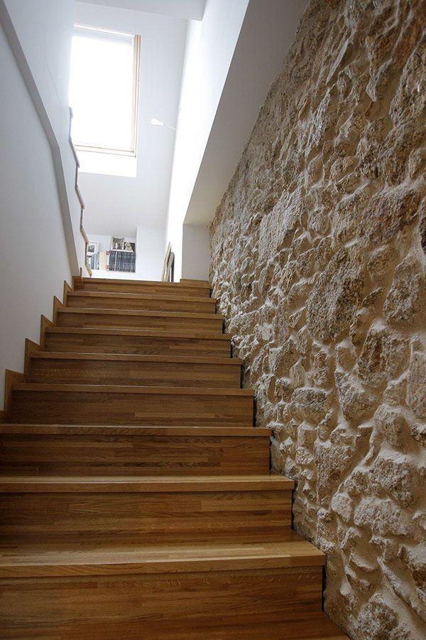 25 best ideas about paredes de la escalera en pinterest - Como pintar una escalera interior ...