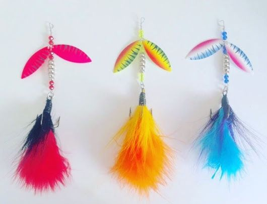 Canadian made musky and pike bucktails made by the Skipper  For only 19.95  F...