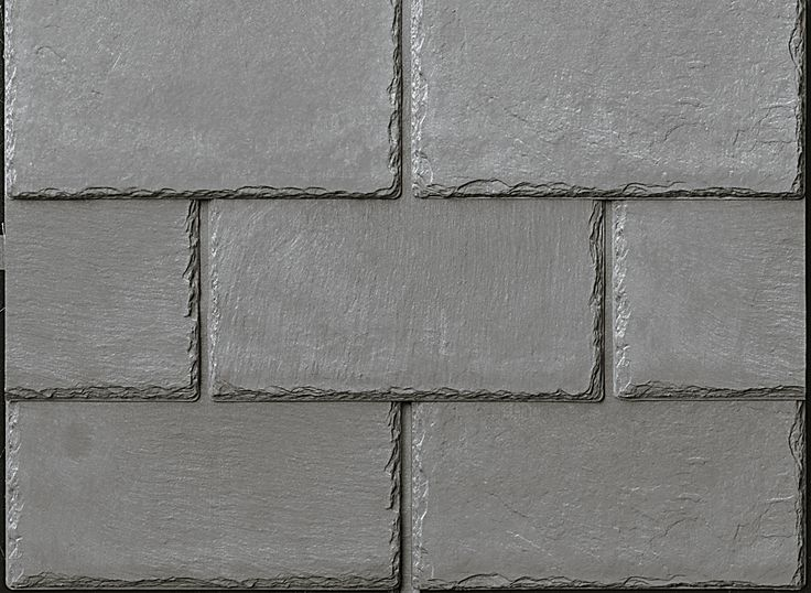 Inspire Synthetic Slate Shingles   Cool Roofing   Ash Grey