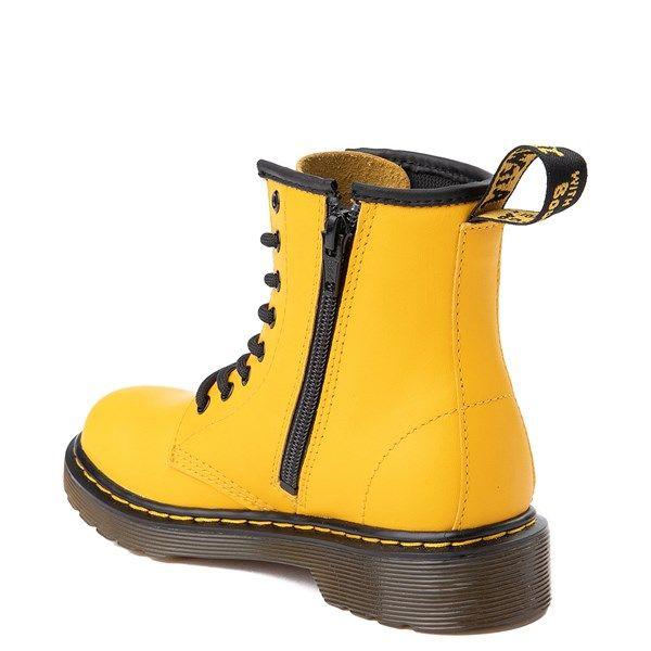 Dr Martens 1460 8 Eye Color Pop Boot Little Kid Big Kid Yellow Journeys Kidz Boots Shoe Size Chart Kids Big Kids
