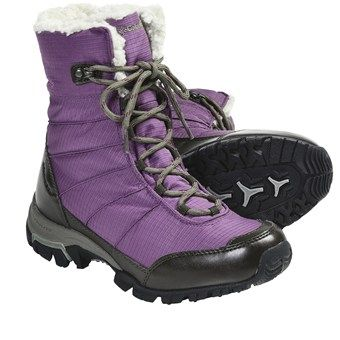 Columbia Sportswear Snolucky Omni-Heat® Winter Boots - Waterproof (For Women) in Gloxinia