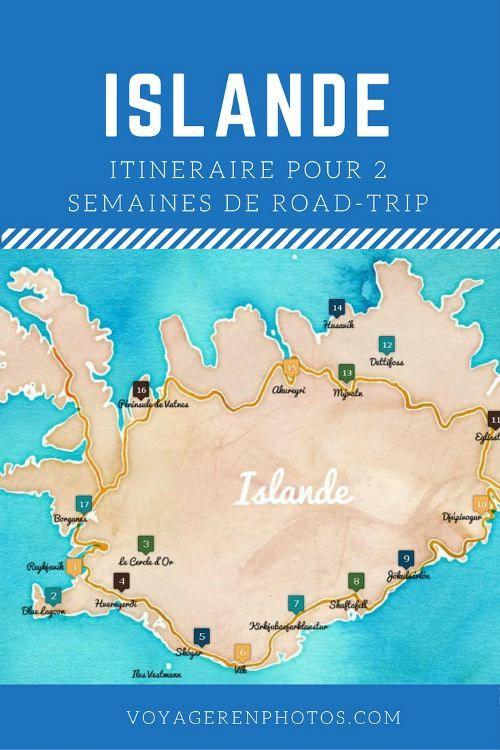 Itinéraire de 2 semaines en Islande pour un road-trip sur la route 1