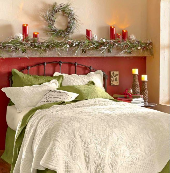 17 Best Images About Bedroom Decor On Pinterest: 17 Best Images About CHRISTMAS--BEDROOMS On Pinterest