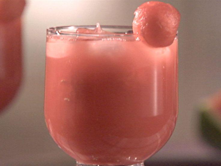 Drunken Watermelon recipe from Sandra Lee via Food Network