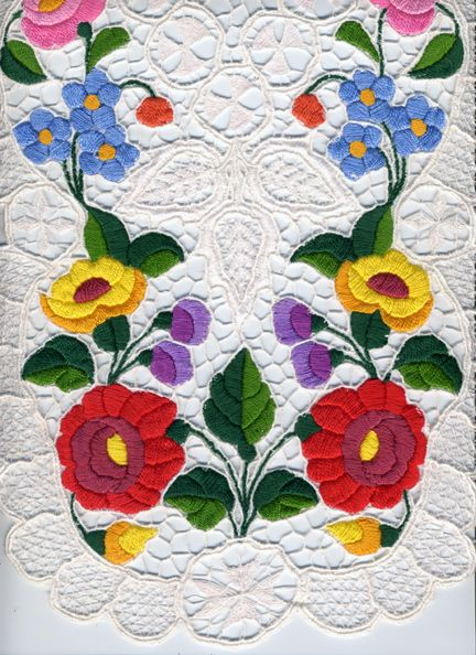 Hungarian table runner
