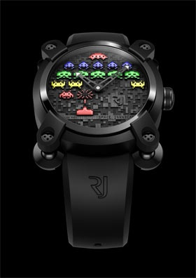 Space Invaders Watch by RJ-Romain Jerome | mecho - the style black book