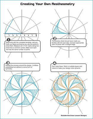 Math/Art Project Bundle – Tessellations & Aestheometry from Outside the Lines Ar…