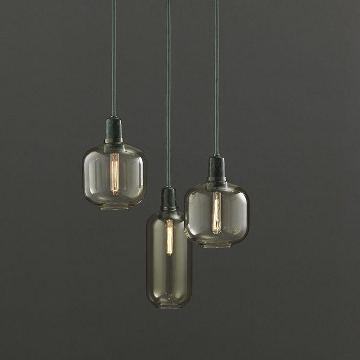 Normann Copenhagen Amp lampe Guld/Green - Small