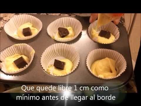 COMO HACER CUPCAKES ESPONJOSOS- Receta de ponquesitos estilo esponja - YouTube
