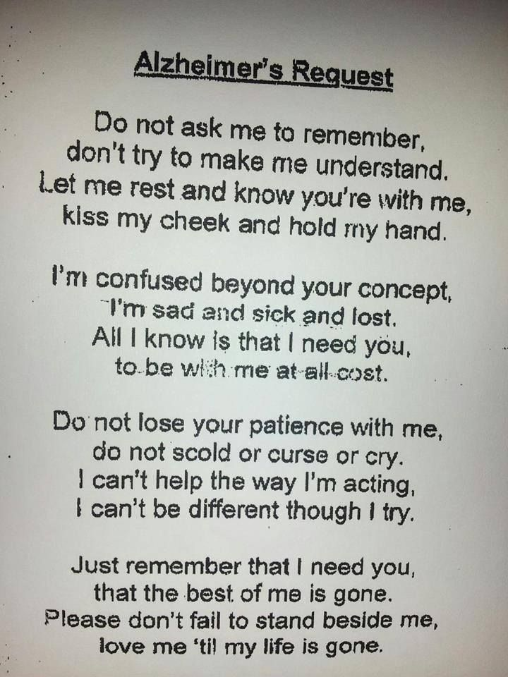 I work with Alzheimer's and Dementia patients. This makes me tear up.