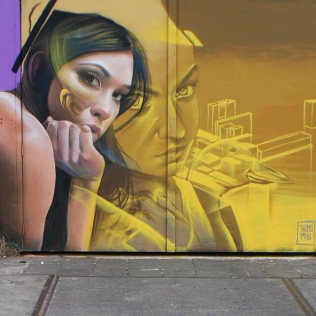 by Telmomiel #streetart #graffiti