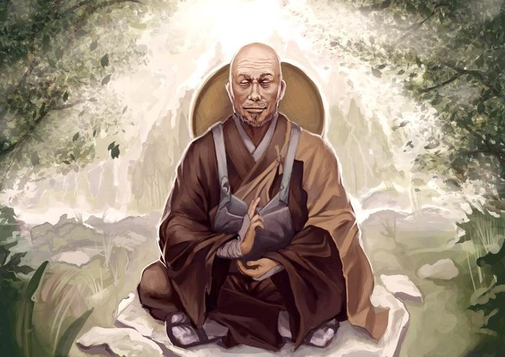 Monje - Torimoko. Samurai forjador retirado