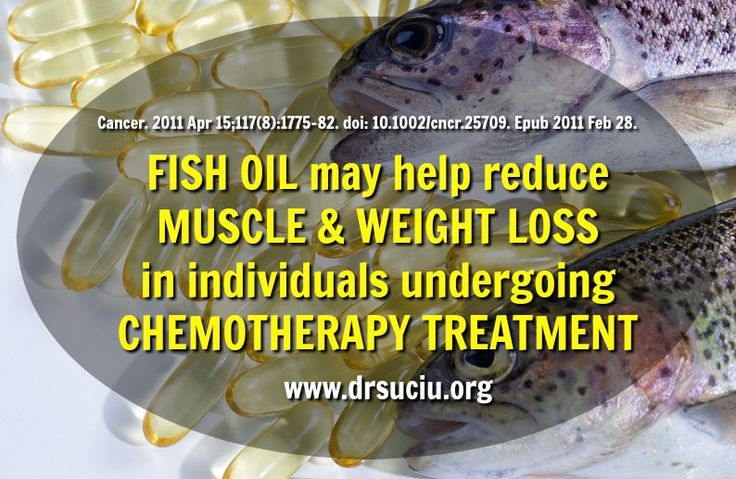 Picture Fish oil benefits in cancer therapy - Dr.Suciu