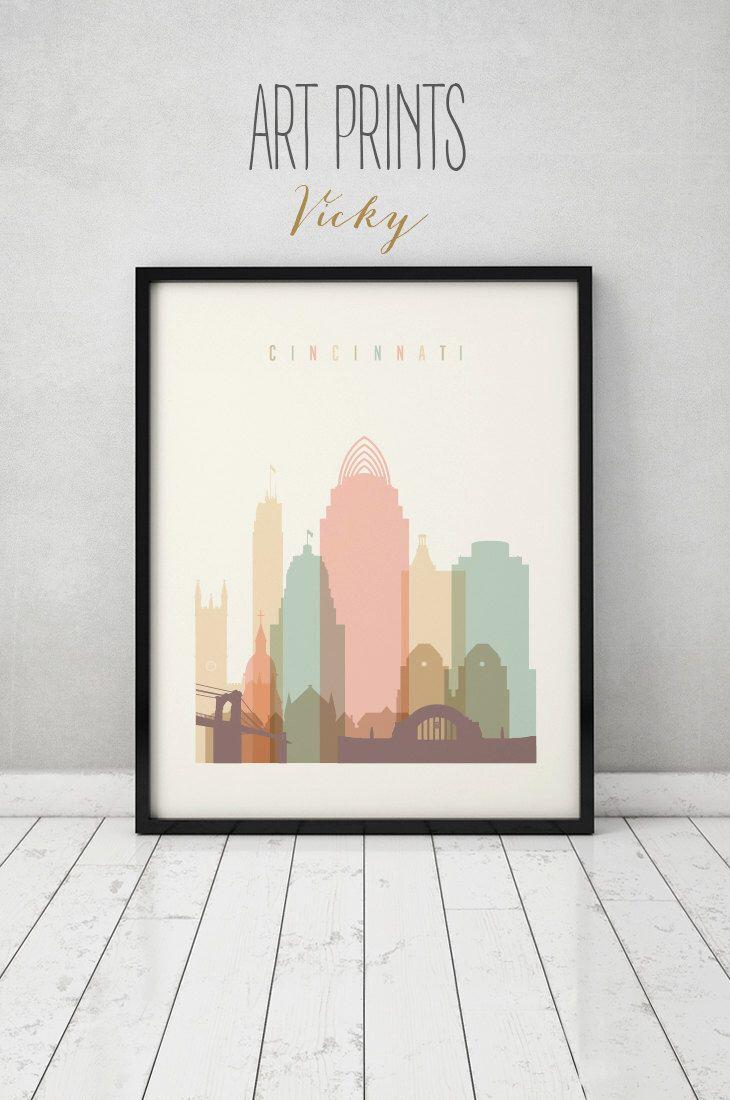 Best 25 Cincinnati skyline ideas that you will like on Pinterest