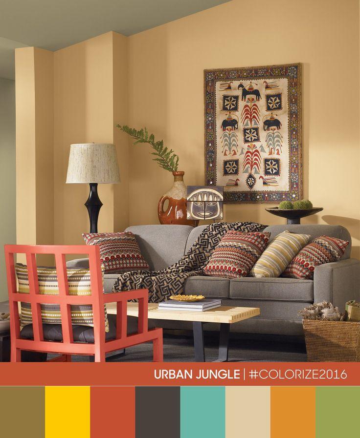 Create a harmonious living room where the