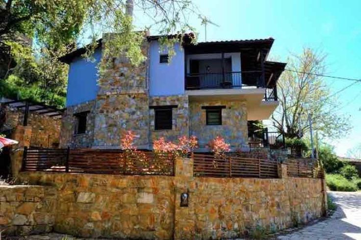 Bernhard Stony House, Parthenonas | Halkidikivillas.com