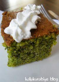 kalpkurabiye: Ispanaklı Haşhaşlı Kek