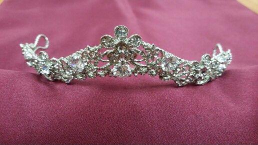Vintage silver headpice Sale $75.00 Bridal Veil Outlet  619 563-4933
