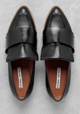 & other stories POINTED TOE LOAFER