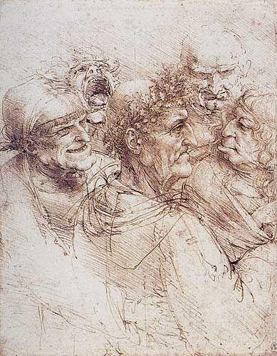 Beş Grotesk Baş, 1494