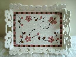 Resultado de imagen para bandeja en mosaico