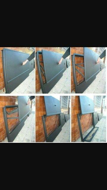 Puerta de asador