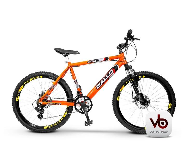 Bicicleta Aro 26 Gallo - Freio A Disco - 21v - Vb
