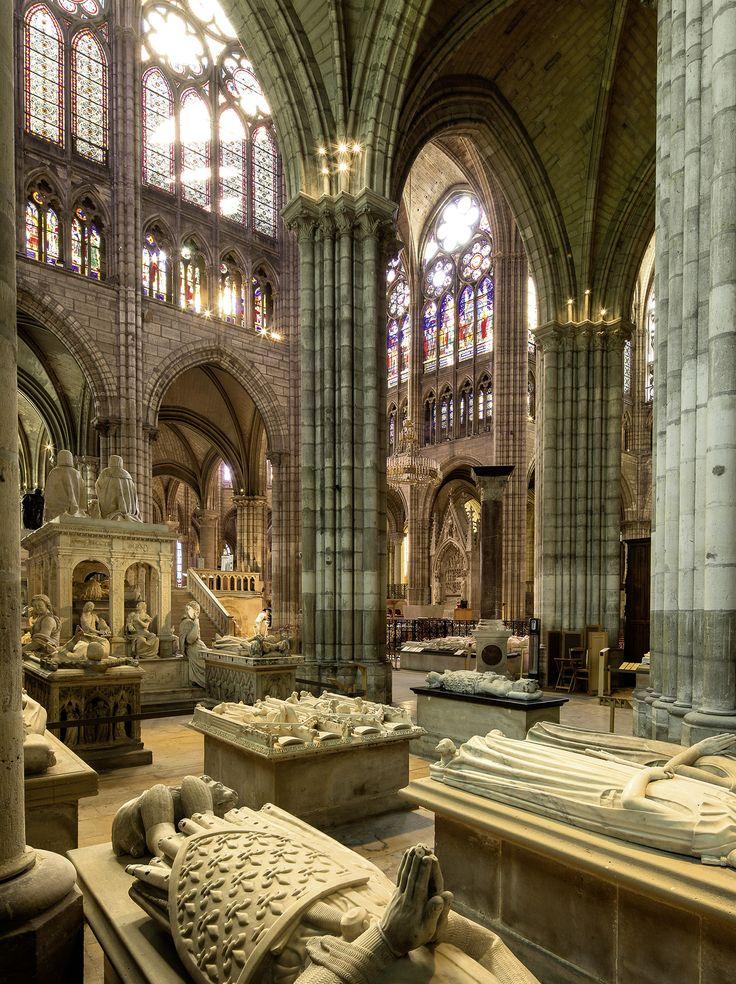ST. DENIS ROYAL TOMBS - list of kings https://en.wikipedia.org/wiki/Basilica_of_St_Denis