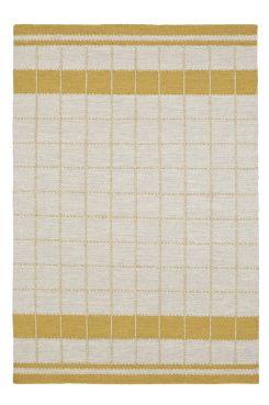 BARI ullmatta 160x230 cm Förnya golvet med en matta i naturfärger och en modern tolkning av den klassiska rutan. <br>Material: Garnfärgad ull och varp av bomull.<br>Storlek: 160x230 cm.<br>Beskrivning: Handvävd matta av garnfärgad ull och vändbar varp av bomull. Oliksidigt mönster.<br>Skötselråd: Rengörs med dammsugare alternativt skumtvätt.<br>Tips/råd: Ull är naturligt smutsavvisande och ett slitstarkt naturmaterial.<br>